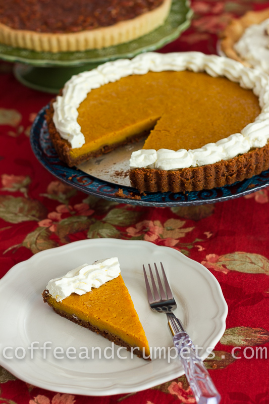Pumpkin Mascarpone Cheesecake Tart