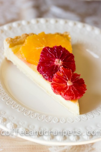 Blood Orange and Ricotta Tart-1