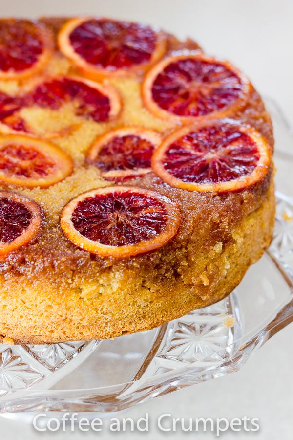 Blood Orange Upside Down Cake-6