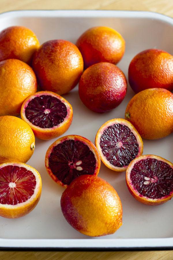 Blood Orange Sherbet |