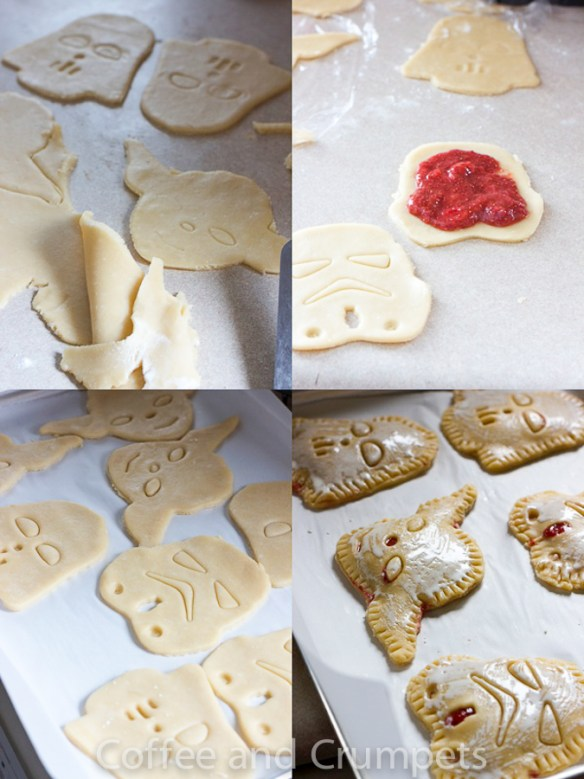 Star Wars Tartlets Collage