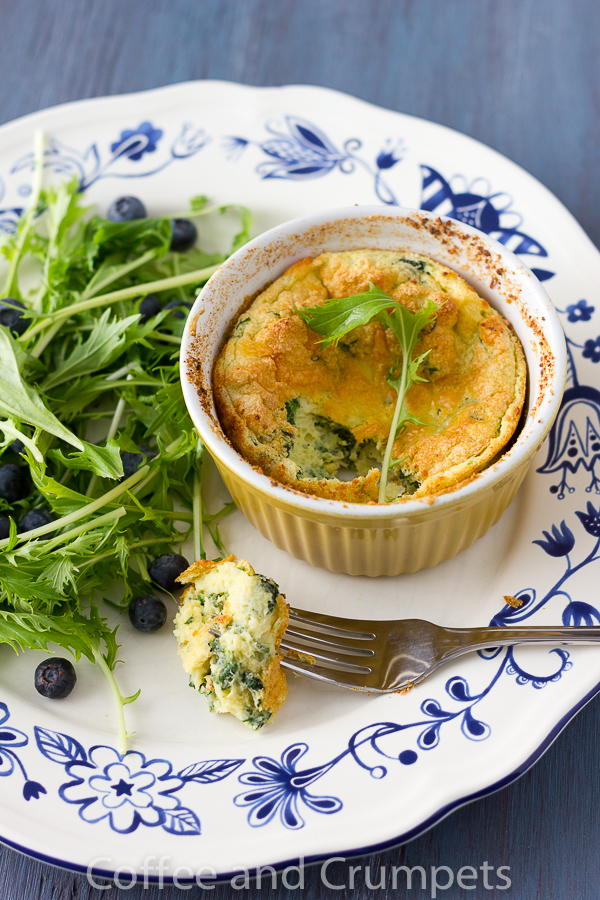 Spinach Soufflé - Coffee and Crumpets