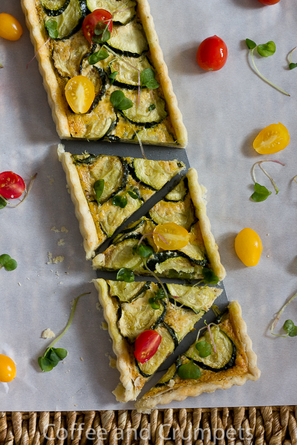 Hatch Chile and Zucchini Tart-1