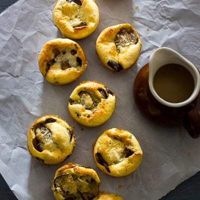 Mushroom Yorkshire Puddings