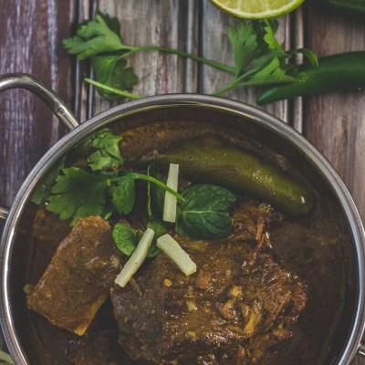 Beef Nehari ~ Indian Beef Shank Stew