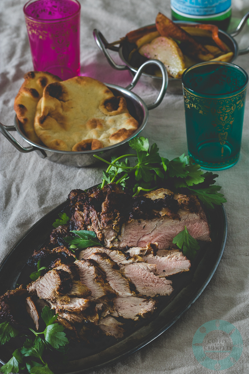 Grilled Tandoori Lamb