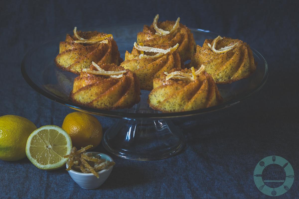 Lemon Meyer Poppy Seed Bundtlets