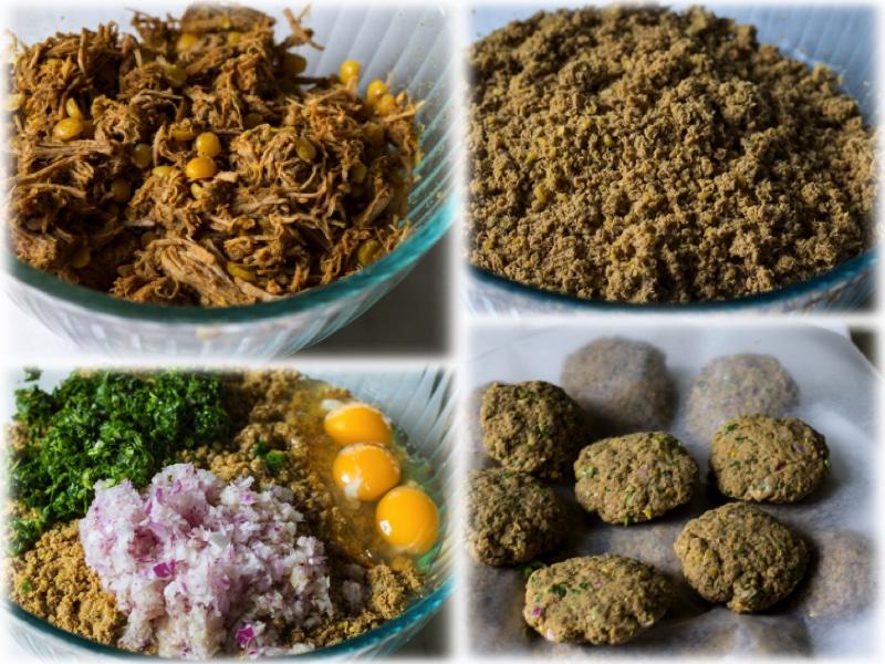 Shami Kebab Collage