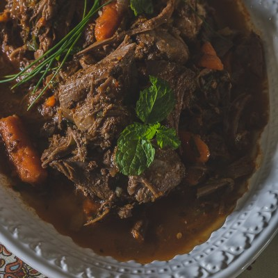 Harissa Braised Lamb