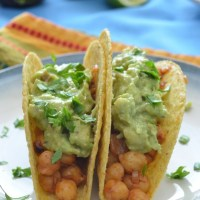 Taco Tuesday: Chickpea Tacos with Guacamole