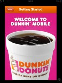Dunkin Donuts App for On the Go Refuels