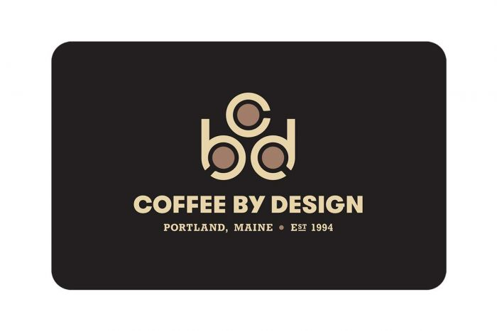 Online Gift Certificate Coffee By Design - Craft-Roasted Coffee