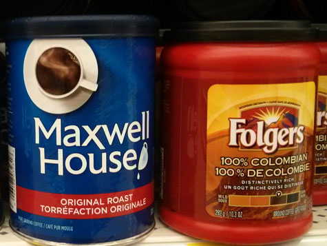It Seems That Maxwell House And Folgers Coffees Are Making
