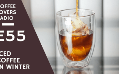 Iced Coffee in Winter