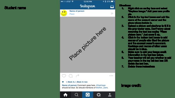Instagram Template coffeenancy.com