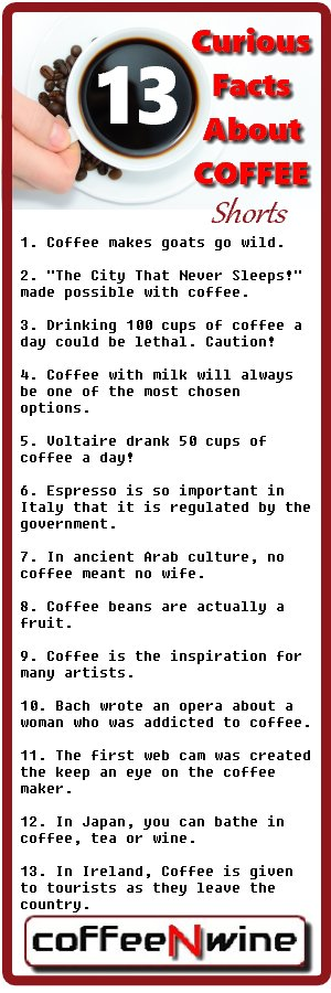 Curious Facts About Coffee