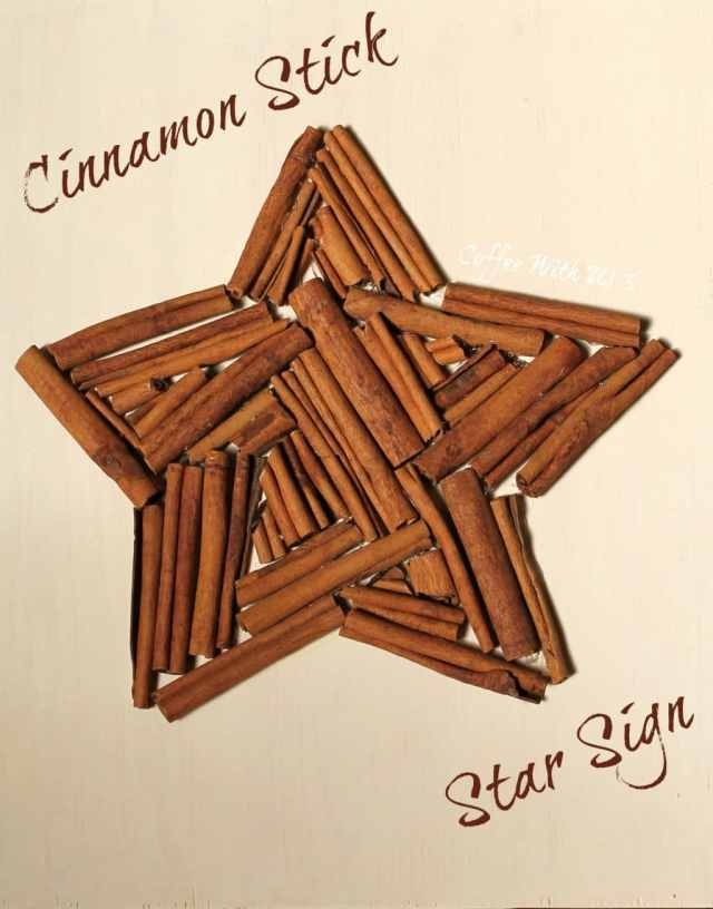Cinnamon Stick Sign