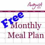 Monthly Meal Plan 3.8