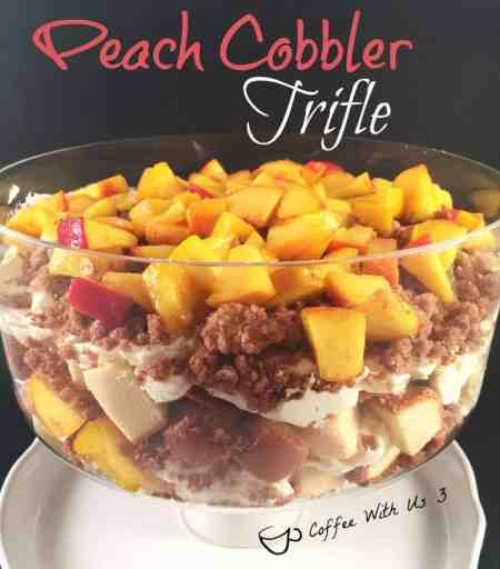 Peach Cobbler Trifle