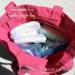 Transitioning to a Toddler Diaper Bag