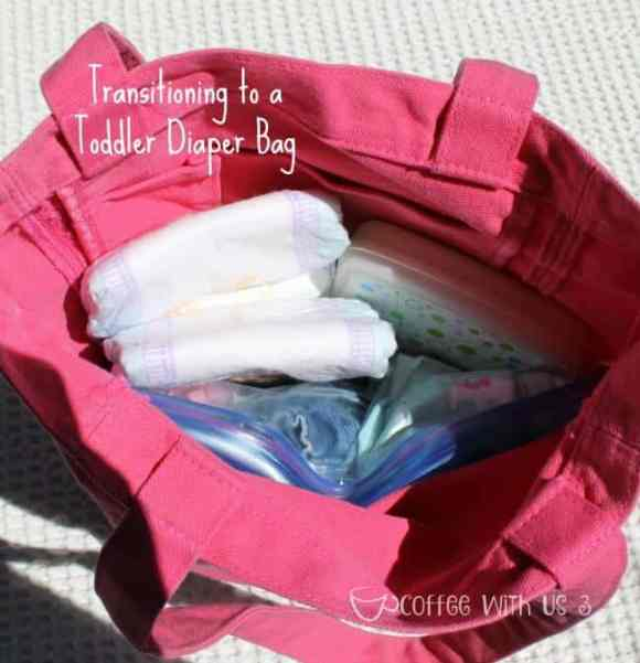 Transitioning to a Toddler Diaper Bag 2