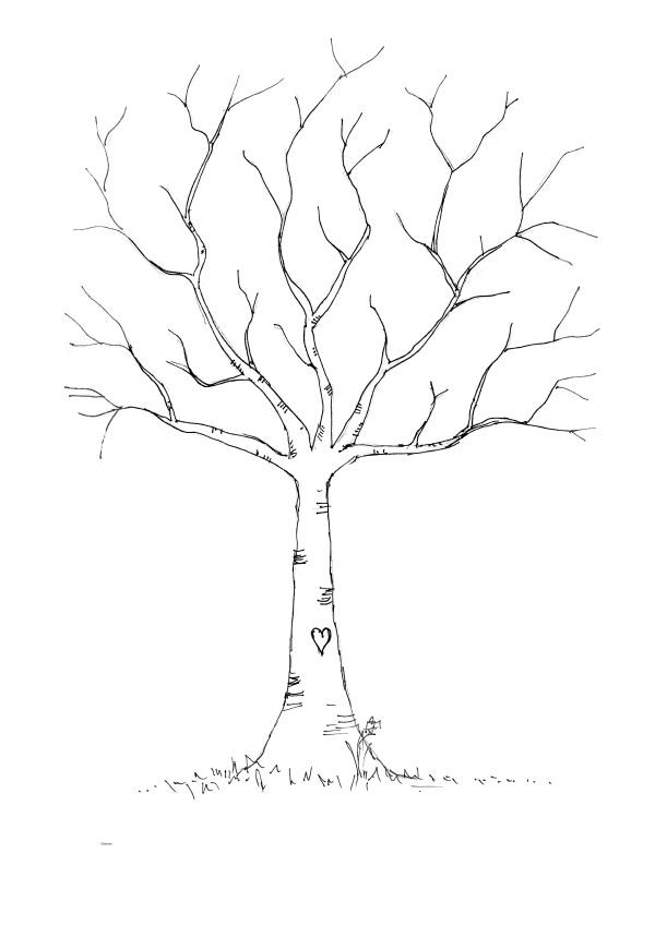 diy-fingerprint-tree-template  coffsforkids