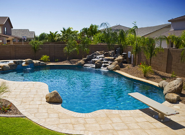 Backyard Pool Landscaping Pictures