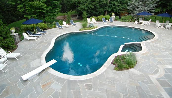 Pool Deck Tile Ideas Pool Design Ideas