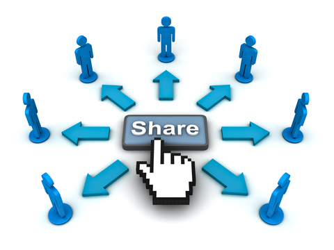 Sharing Spreadsheets Through Social Media and Online Data Storage
