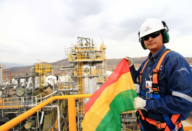 YPFB: Yacimientos Petrolíferos Fiscales Bolivianos