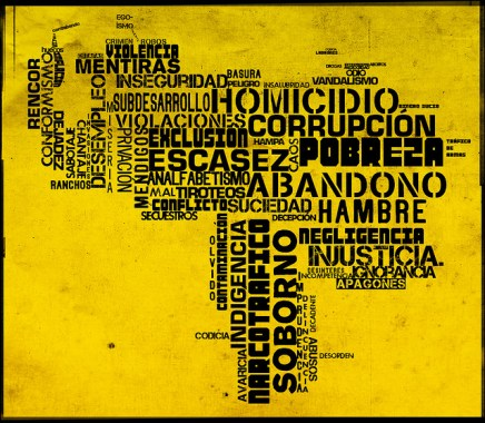 El mapa que no queremos ver Image by: Juan Carlos Aristimuño. Taken from: https://www.flickr.com/photos/jcaristimuno/4085357282/in/photostream/