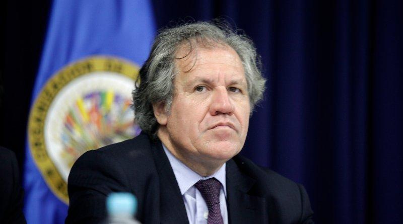 Luis Almagro, Secretario General de la OEA en el Consejo Nacional de Seguridad.