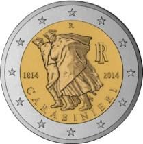 2 Ευρώ, Ιταλία, Καραμπινιέροι, 2014