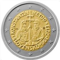 2 Ευρώ, Σλοβακία, Κύριλλος και Μεθόδιος, 2013
