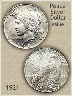 1921 Peace Silver Dollar Value Discover Their Worth