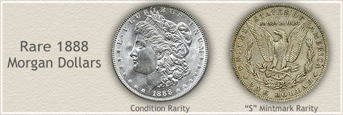 1888 Morgan Silver Dollar Value Discover Their Worth