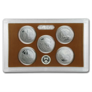 2011S 5-piece quarter Proof set