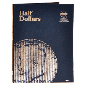 Whitman Half Dollars Folder (Plain)