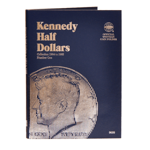 Whitman Kennedy Half Dollars Folder (1964-1985)