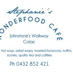 STEPHANIE'S WONDERFOOD CAFE