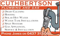 cuthbertson plumbing and gas