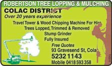 robertson tree looping