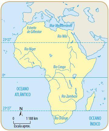 Hidrografia da África - Principais Rios Africanos - Cola da Web