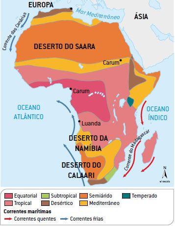 Continente Africano - Tudo Sobre a África - Cola da Web
