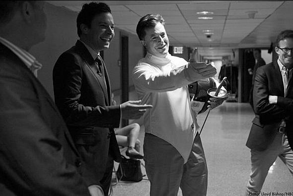 Stephen Colbert and Jimmy Fallon Do Something Awards