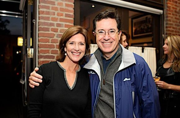 Stephen Colbert and Evelyn Colbert Montclair International Film Festival