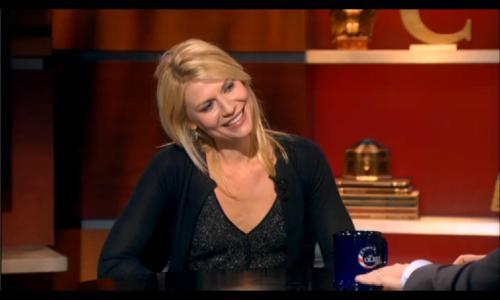 Claire Danes, Colbert Report