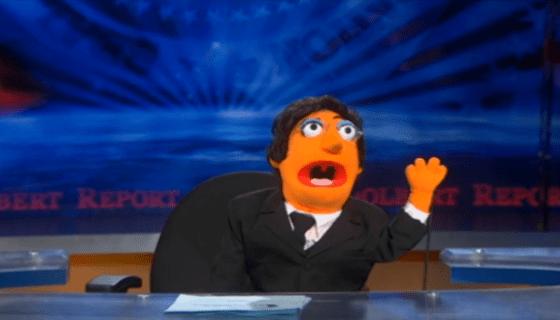 Stephen Colbert Muppet