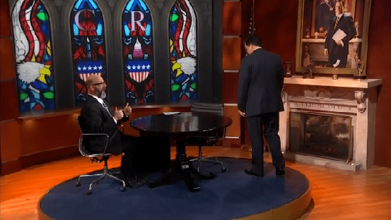 Andrew Sullivan on The Colbert Report