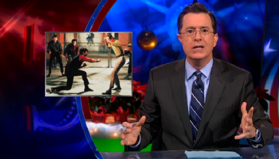 The Colbert Report West Side Story